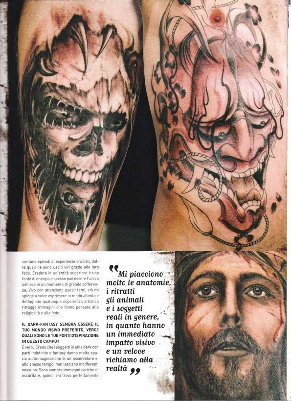 Intervista al tatuatore Antonio Orlando-tattoo italia ...